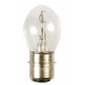 Scooter Specialist N.I. Bulb Headlight (BA20d) 12V 35/35W Clear       BIN 279