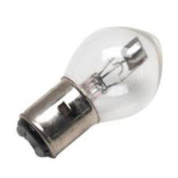Scooter Specialist N.I. Bulb Headlight BA20D/Bosch 6V 25/25W Clear (Rally)      BIN  281