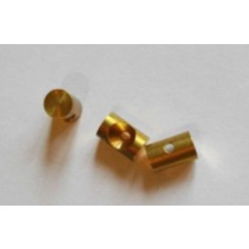 Scooter Specialist N.I. Cable nipple barrel 6mm, solder on    BIN 143