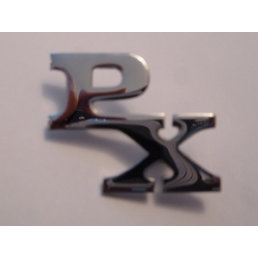 Scooter Specialist N.I. Chrome PX badge
