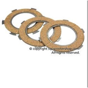 Scooter Specialist N.I. Clutch Plate Set-cork (VNB/VBB/SP/PX)