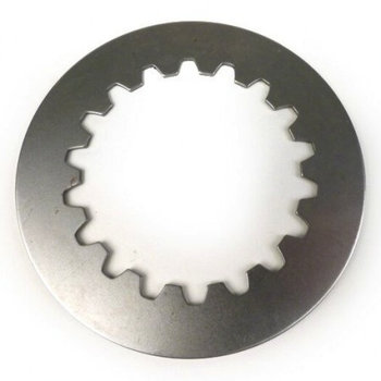 Scooter Specialist N.I. Clutch Steel Plate, Cosa Clutch 0 108mm, 18 teeth, 1,5mm 2nd Steel notched