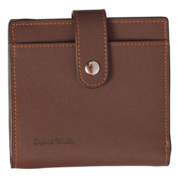 David Watts David Watts Brown leather wallet