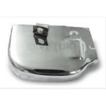 Scooter Specialist N.I. Gear Selector Box Cover, PX, PE - Polished S/S   Bin 304