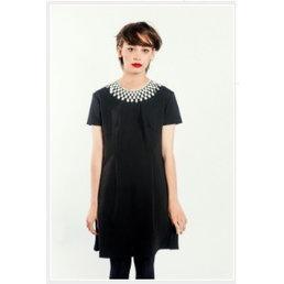 Pop Boutique Pop Boutique Lace Collar Dress