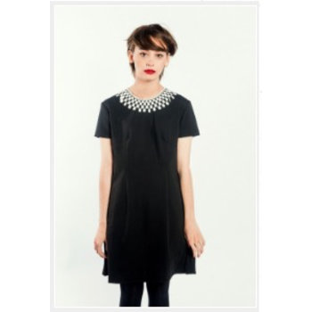 Pop Boutique Pop Boutique Lace Collar Dress
