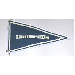 Scooter Specialist N.I. Lambretta Blue Scooter Flag