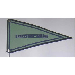Scooter Specialist N.I. Lambretta Green Scooter Flag