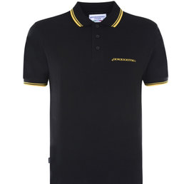Lambretta Heritage Tipped Polo Shirt
