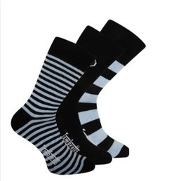 Lambretta Lambretta mens 3 pack mixed socks