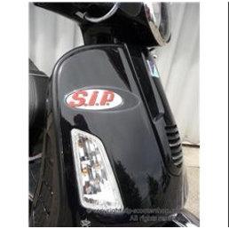 Scooter Specialist N.I. Legshield Beading - Vespa (GT/GTS/GTV) matt black