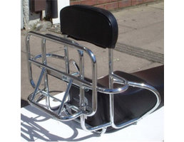 Scooter Specialist N.I. Luggage Carrier rear chrome 4in1 (PX/PE/T5)