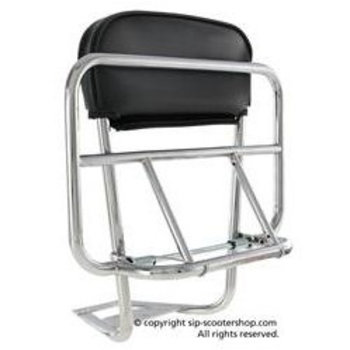 Scooter Specialist N.I. Luggage Carrier rear, CUPPINI chrome 2in1 (PX/PE/T5/LML)