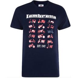 Lambretta Photo Print T Shirt