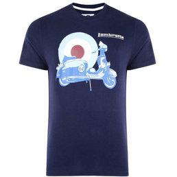 Lambretta Photo Print Target Lambretta T Shirt