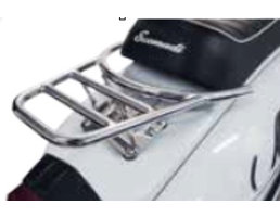 Scomadi SMALL REAR CARRIER CHROME