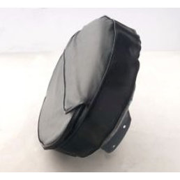 """Scooter Specialist N.I. Spare Wheel Cover 10"""" - Black with Pouch,"""