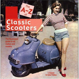 The A-Z of Classic Scooters book