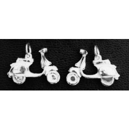 Scooter Specialist N.I. Vespa PX Solid Silver Charm