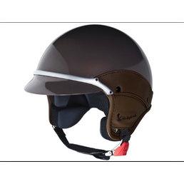 Vespa SOFT TOUCH helmet, BROWN, S (54-56CM)