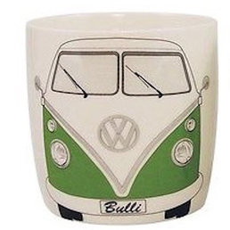 VW BUTA09 Green VW Camper Van Coffee Mug