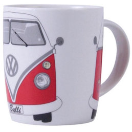 VW BUTA01 Red VW Camper Van Coffee Mug