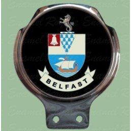 Royale Enamel Bar badges- city of Belfast