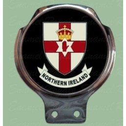 Royale Enamel Bar badge - N.I. coat of arms