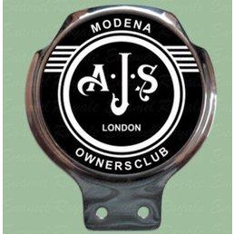 Royale Enamel Bar badge - AJS owners club
