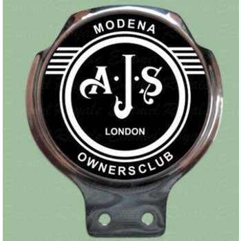 Royale Enamel Bar badges- AJS owners club