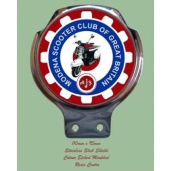 Royale Enamel Bar badges- Modena club G.B.