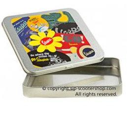 Vespa Vespa Tin with sticker set-2