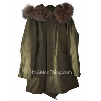 It's a Mod thing M51 parka real fur hood