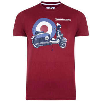 Lambretta Photo Print Target Lambretta T Shirt