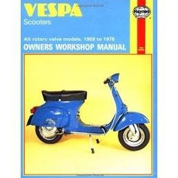 Haynes Manual - Vespa Scooters 1959-1978