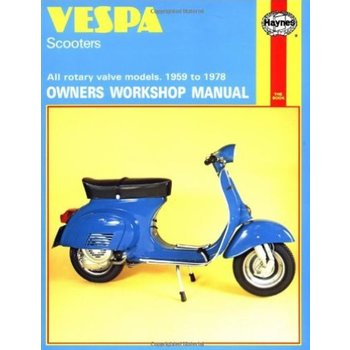 Haynes Manual - Vespa Scooters 1959-1978