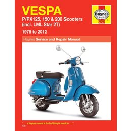 Scooter Specialist N.I. Haynes Manual - Vespa PX/T5