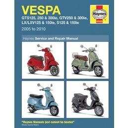 Scooter Specialist N.I. Haynes manual - Vespa GTS/GTV/LX 2005-2010