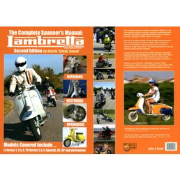 Scooter Specialist N.I. Lambretta Spanners Manual