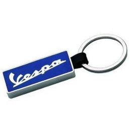 Vespa Metal keyring vespa logo blue