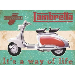 Scooter Specialist N.I. Lambretta way of life magnet