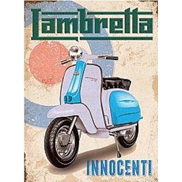 Scooter Specialist N.I. Lambretta Innocenti/target magnet