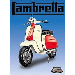 Scooter Specialist N.I. Lambretta blue magnet