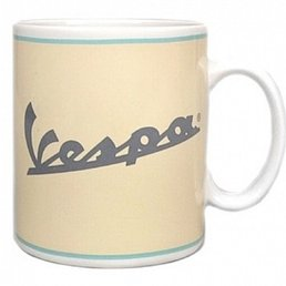 Vespa VPCE15 Cream Coffee Mugs