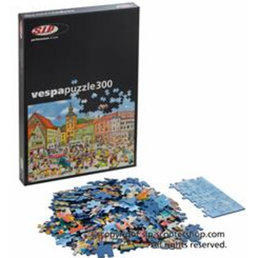 Ravensburger scooter scene jigsaw puzzle