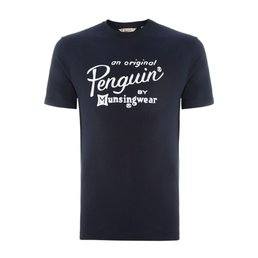 Penguin Logo T Shirt GREY XXL