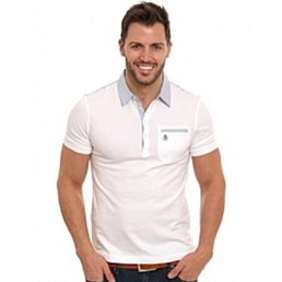 Penguin Palm Collar Polo Shirt