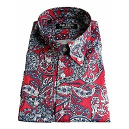 Mr Free paisley shirts