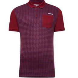 Lambretta Geo Front Polo Shirt