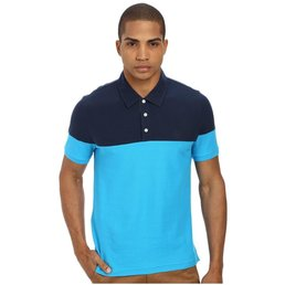 Penguin Colour Block Polo